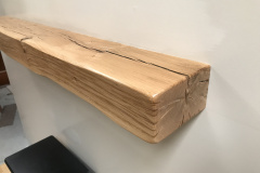 Reclaimed Oak Beam Mantel